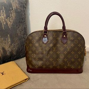 Authentic Vintage Monogram Louis Vuitton Alma